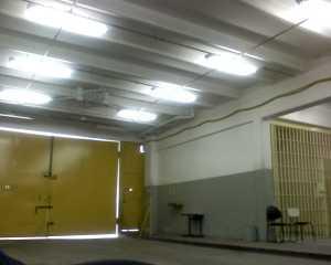 Parte interna da segunda portaria, local onde os advogados aguardam até poderem entrar no parlatório